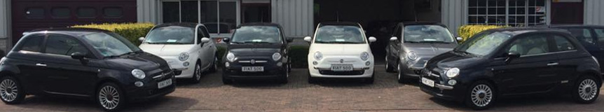 Service en garantie Fiat 500